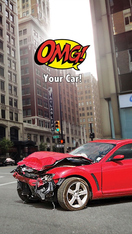 OMG! Your Car!