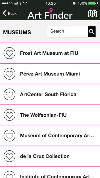 Art Finder Miami Screenshot