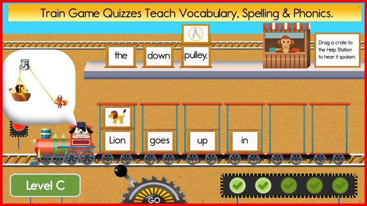 Reading Train Starter Books, Songs & Quizzes screenshot-3