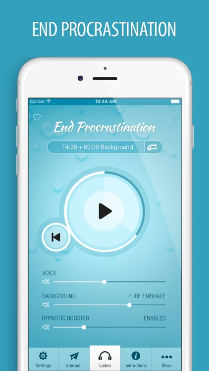 End Procrastination Hypnosis - Getting Things Done