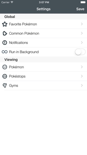 Go Radar Free Live Map For Pokemon Go On The App Store