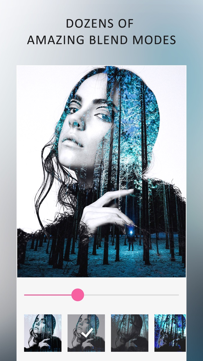 Blend Editor - Double Exposure Screenshot