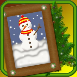 Christmas Photo Frame - Capture, Edit & Frame Your Photos All In One