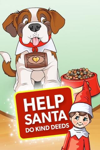 Elf Pets® Pup - Christmas Run screenshot 1