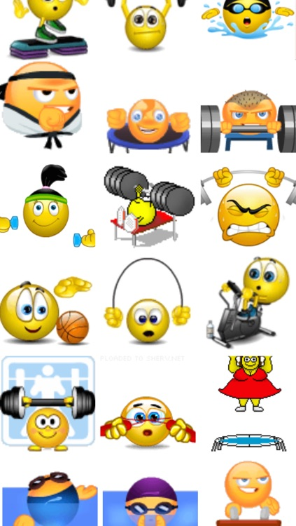 Fitness Emojis screenshot-2