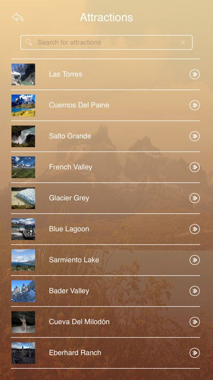 Torres del Paine National Park Tourist Guide screenshot-2