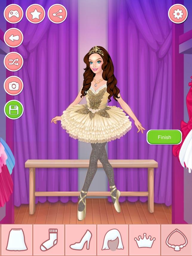Bailarina Juego De Vestir Y Maquillar Para Niñas en App Store