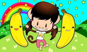 Zuzu's Bananas: A Monkey Preschool Game