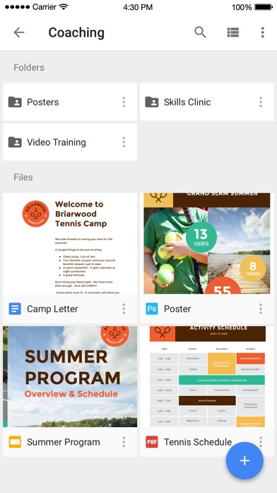 Google Drive - Online backup & cloud storage space app image