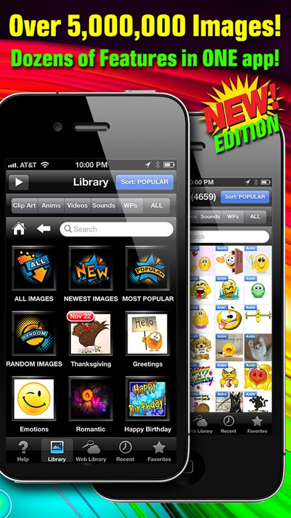 CLIPish Pro - Animations, Clipart, 3D Emoji Icons screenshot-1