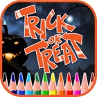 Trick Or Treat Drawing Book - Halloween Drawings icon