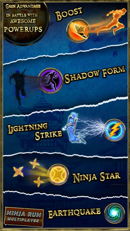 Ninja Run Multiplayer: Real Fun Racing Games 2 screenshot-3
