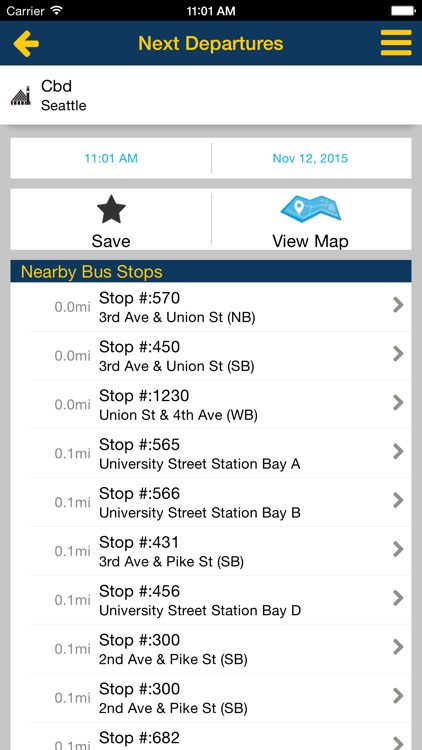 Puget Sound Trip Planner screenshot-2