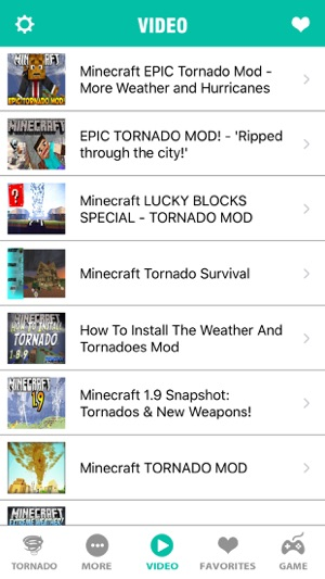 Tornado Mod FREE Best Wiki Game Tools For Minecraft PC Edition - Minecraft mods spielen wie