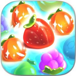 Juice Fruit Pop: Match 3 Puzzle Game
