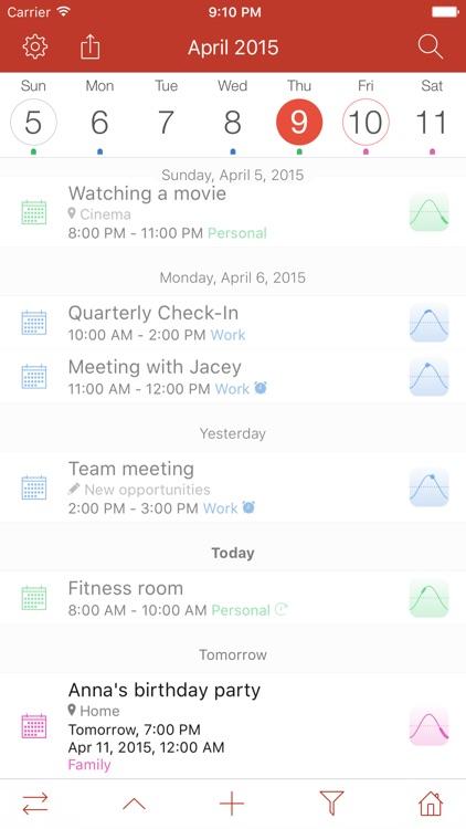 Memorandum: Calendar & Planner