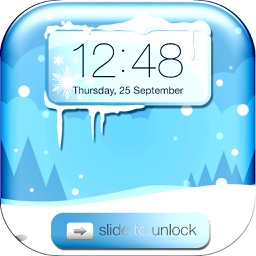 Winter Wallpapers  - Frozen Lock Screen Background
