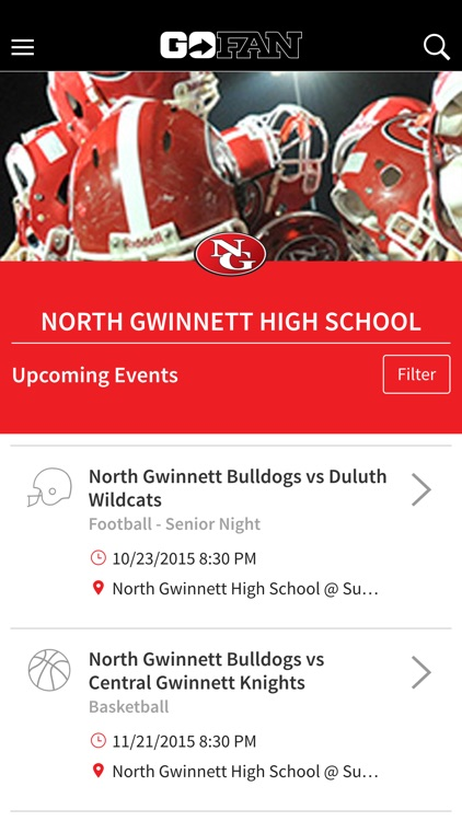 GoFan – High School Tickets screenshot-0
