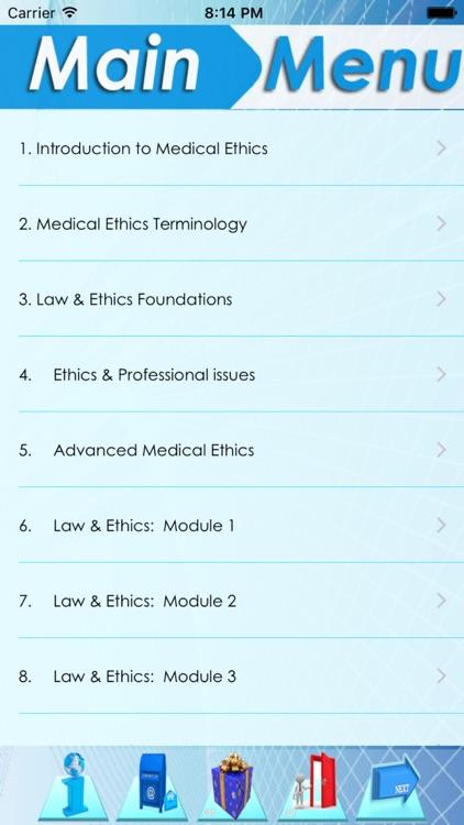 Medical Law & Ethics screenshot-3