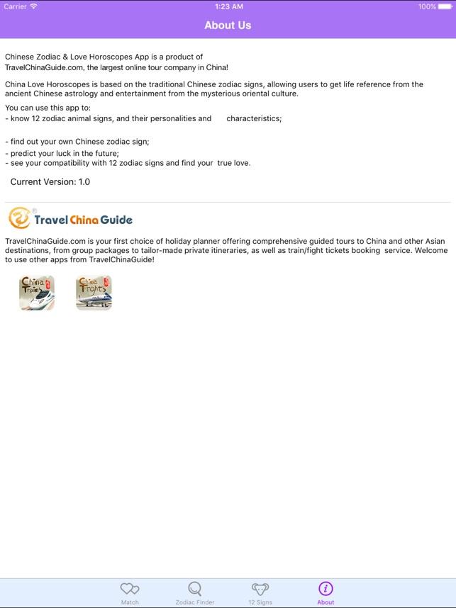 Chinese Zodiac & Horoscopes on the App Store