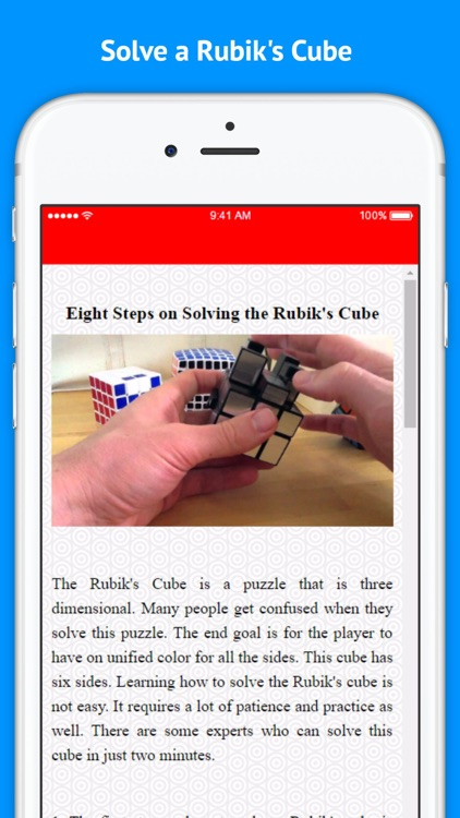 How to Sovle Rubiks Cube in 30 seconds screenshot-3