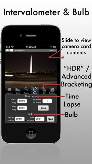 Camranger wireless dslr camera on the app store screenshots fandeluxe Images