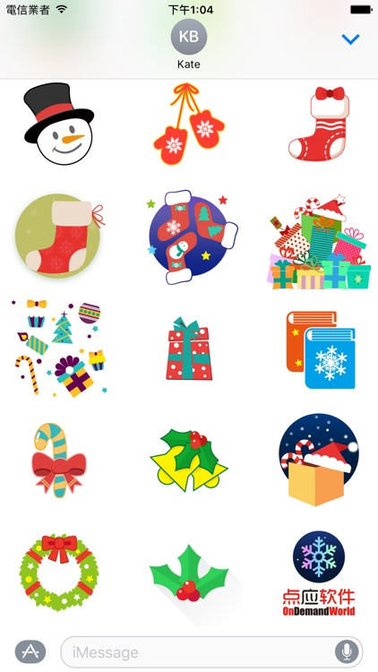 Christmas Joys - Lovely Xmas stickers screenshot-0