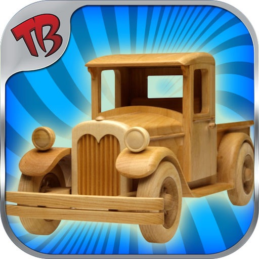 wooden toys - free toy maker iOS App