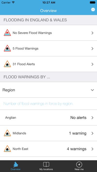 Flood Alert screenshot two