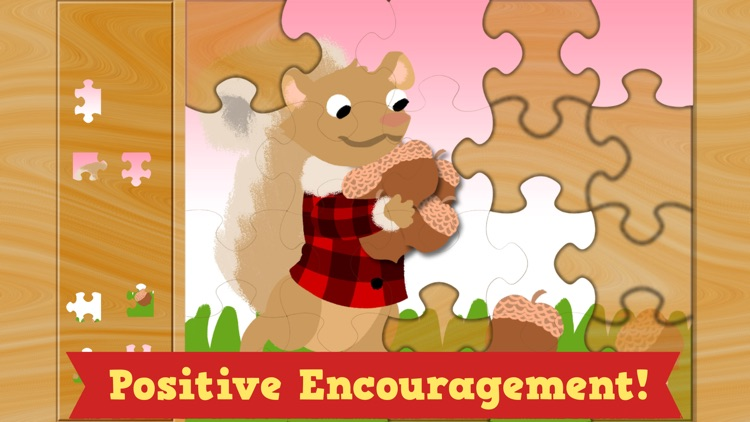 Thanksgiving Puzzles - Fall Holiday Games for Kids screenshot-4