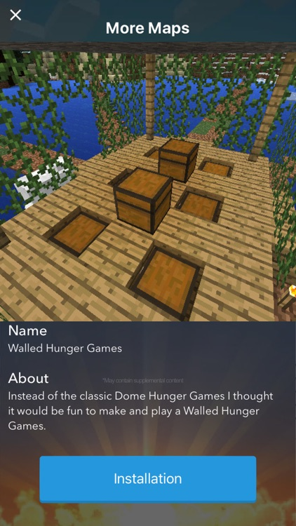 Maps The Hunger Games for Minecraft PE - The Best Maps for Minecraft Pocket Edition