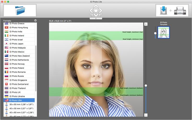 ID Photo Lite скриншот программы 3