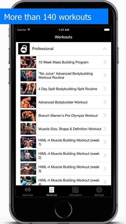 Gym Guide Pro workouts and exercises for fitness screenshot-3