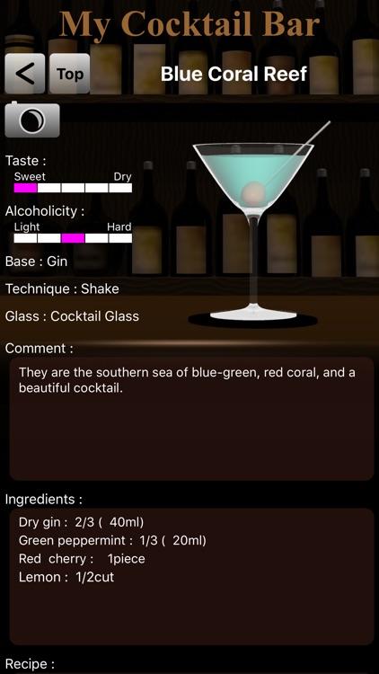 MyCocktailBar screenshot-3