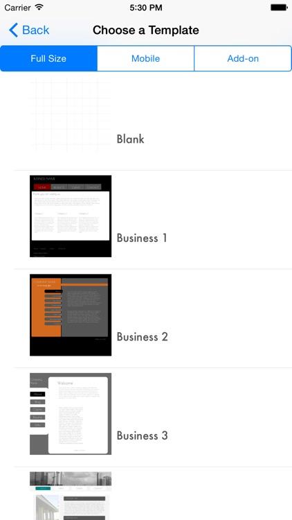 HTML Egg Website Creator screenshot-4