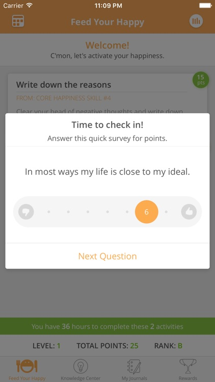 Feed Your Happy - mindfulness skills training for everyday happiness screenshot-3
