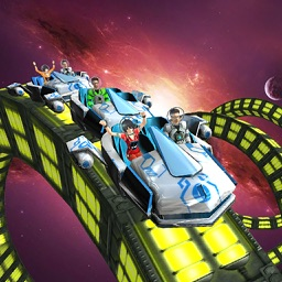 RollerCoster Simulator Space. Ride The 6 Parck Amusement Theme Mania