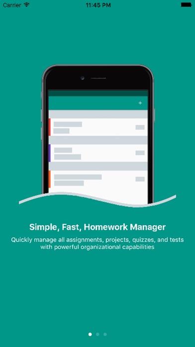 Screenshot for Egenda - Homework Manager in United States App Store
