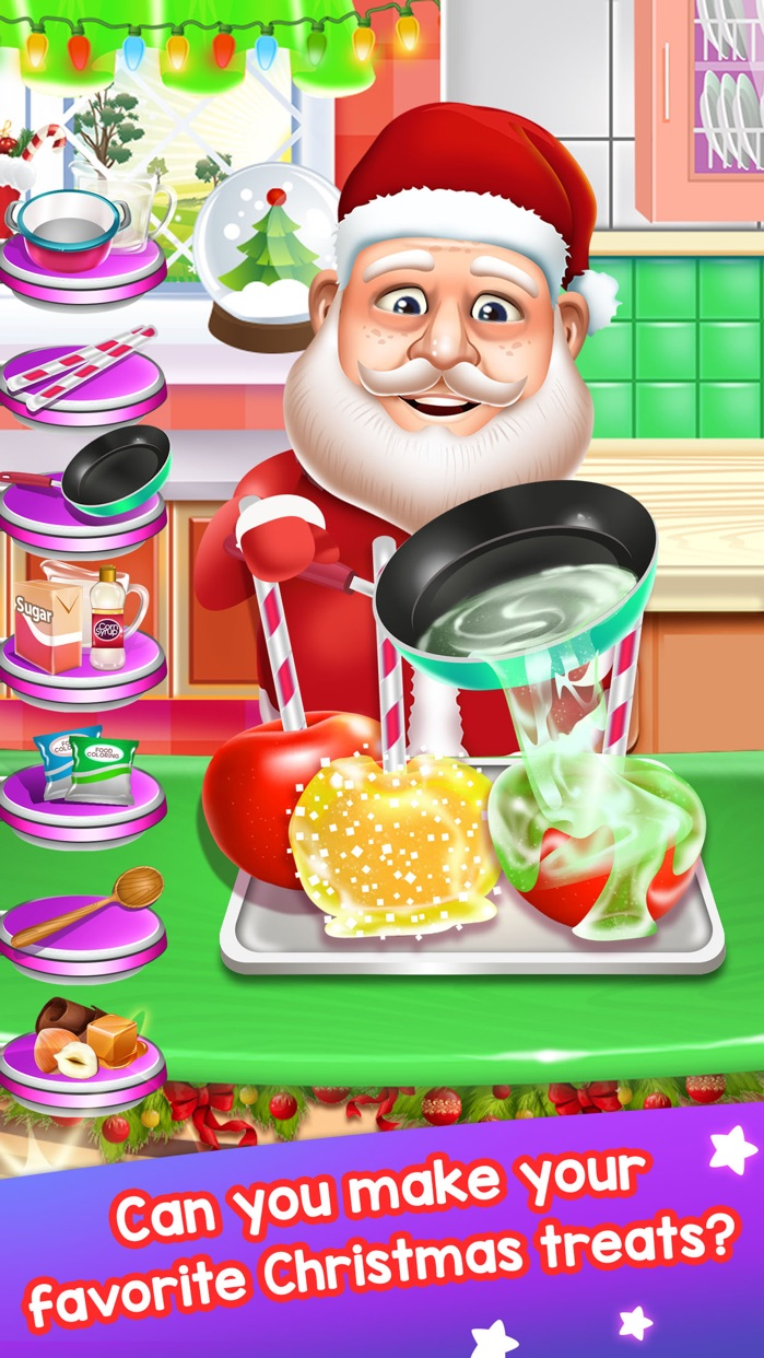 Santa Food Maker Cooking Kid Games (Girl Boy) Screenshot
