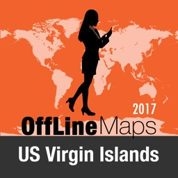 US Virgin Islands Offline Map and Travel Trip