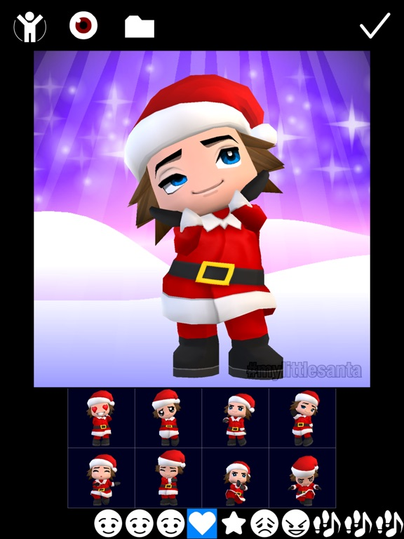 Screenshot #2 for My Little Santa Lite