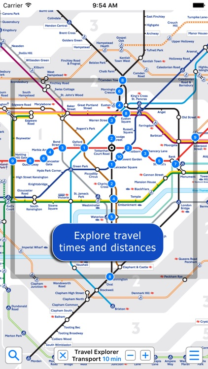 London Underground - Map and Route Planner by Zuti screenshot-3