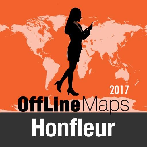 Honfleur mapa offline y guía de viaje