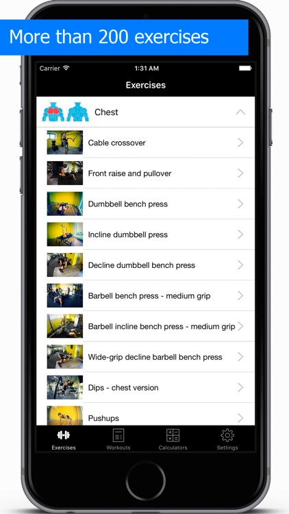 Gym Guide Pro workouts and exercises for fitness