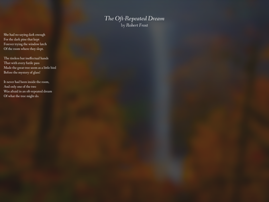 Pocket Poetry screenshot