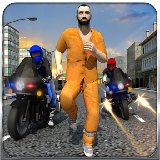 Полиция Байк Криминал Патруль Чейз пистолет шутер