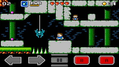 Screenshot from Venture Kid
