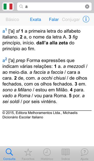 Michaelis Dicionário Escolar Italianoのおすすめ画像1
