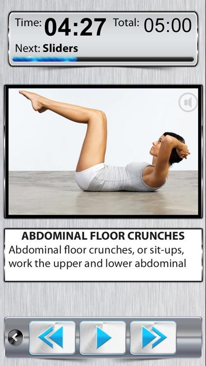 Belly Fat Burner Six Pack Workout Exercise screenshot-0