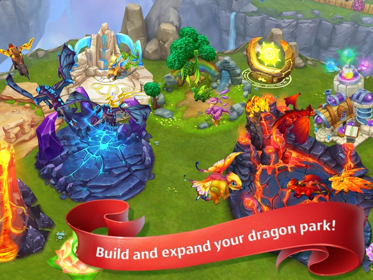 Dragons World HD screenshot-3